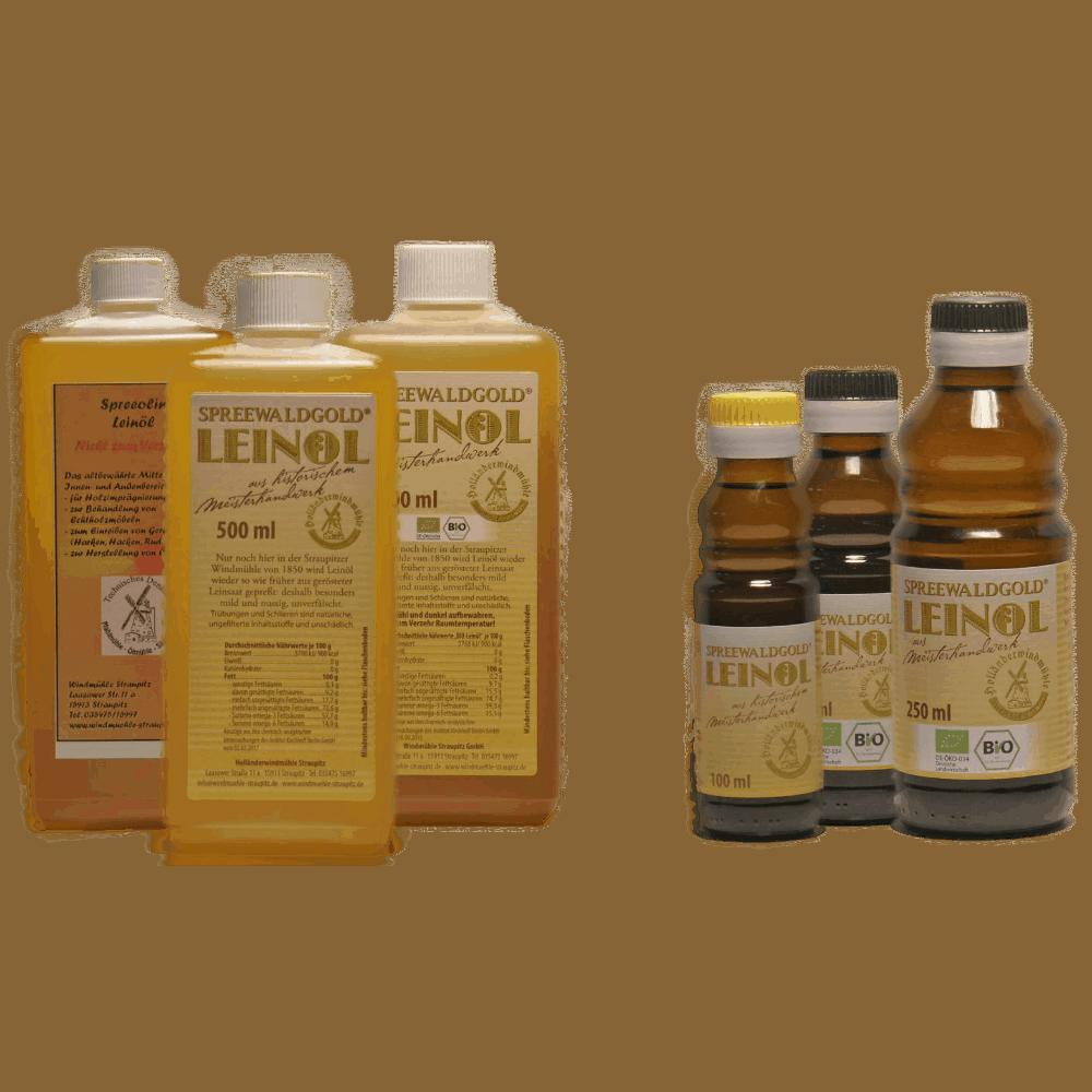 Spreewaldgold-Leinöl